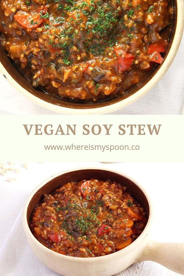 vegan soy stew Vegan Soy Stew