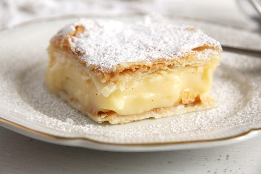 Vanilla Cream Pie – Romanian Cremsnit