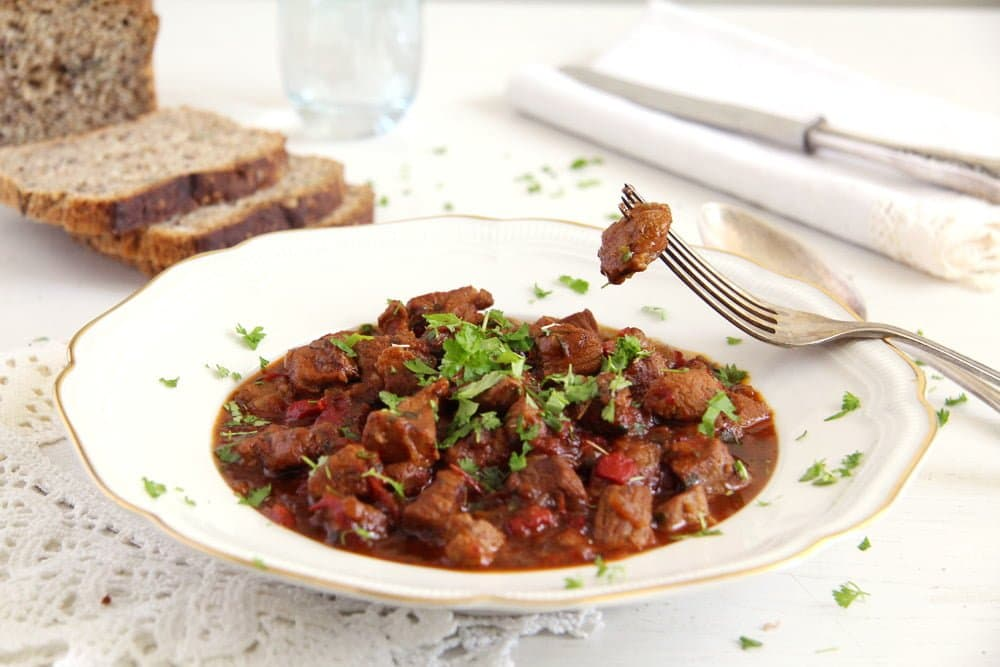 Romanian Lamb Stew