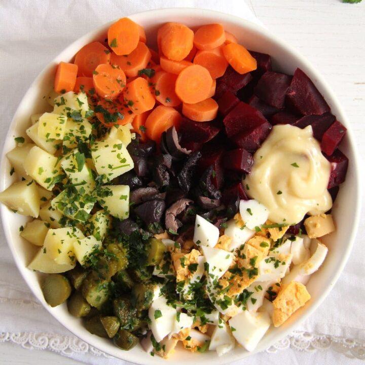 Salad à la russe