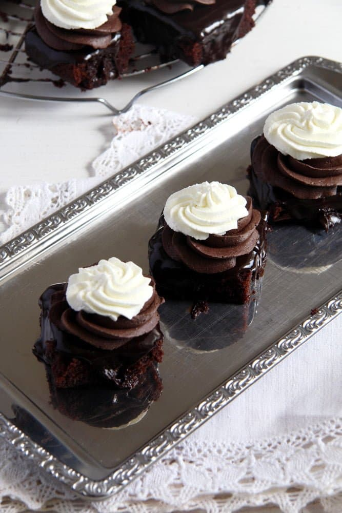 Romanian Chocolate Cake Boema