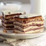 greta garbo cake jam 150x150 Layered Cake with Walnuts and Jam   Prajitura Greta Garbo