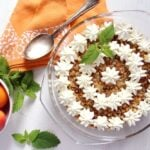 apricot dessert 150x150 Apricot Crumble Dessert with Cake Scrapings