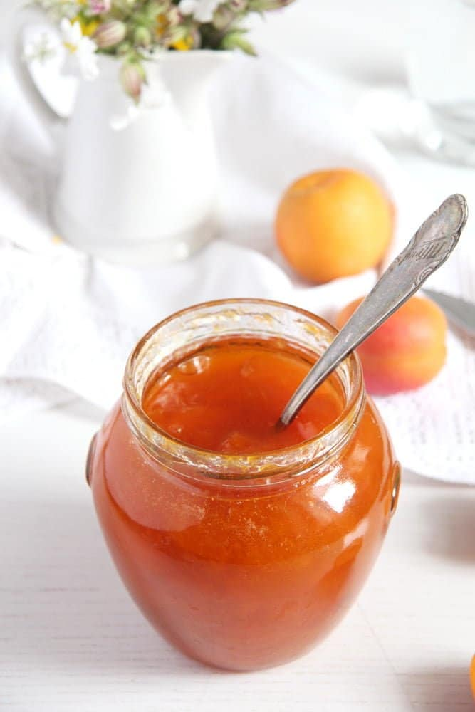 apricot jam simple Simple Apricot Jam and How to Sterilize Jars
