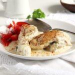 chicken cream sauce 150x150 Chicken in Cream Sauce   Romanian Recipe