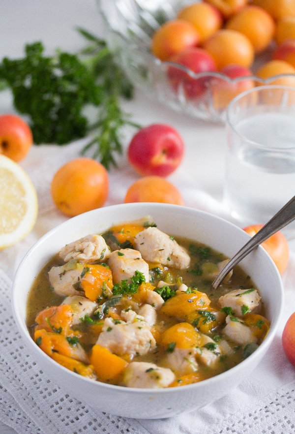 chicken with apricots recipe