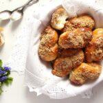 moldavian pastries 150x150 Moldavian Yeast Pastries with Honey Walnut Topping – Mucenici