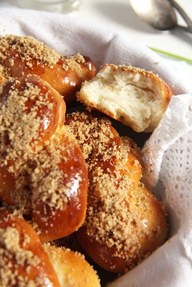 moldavian pastry mucenici Moldavian Yeast Pastries with Honey Walnut Topping – Mucenici