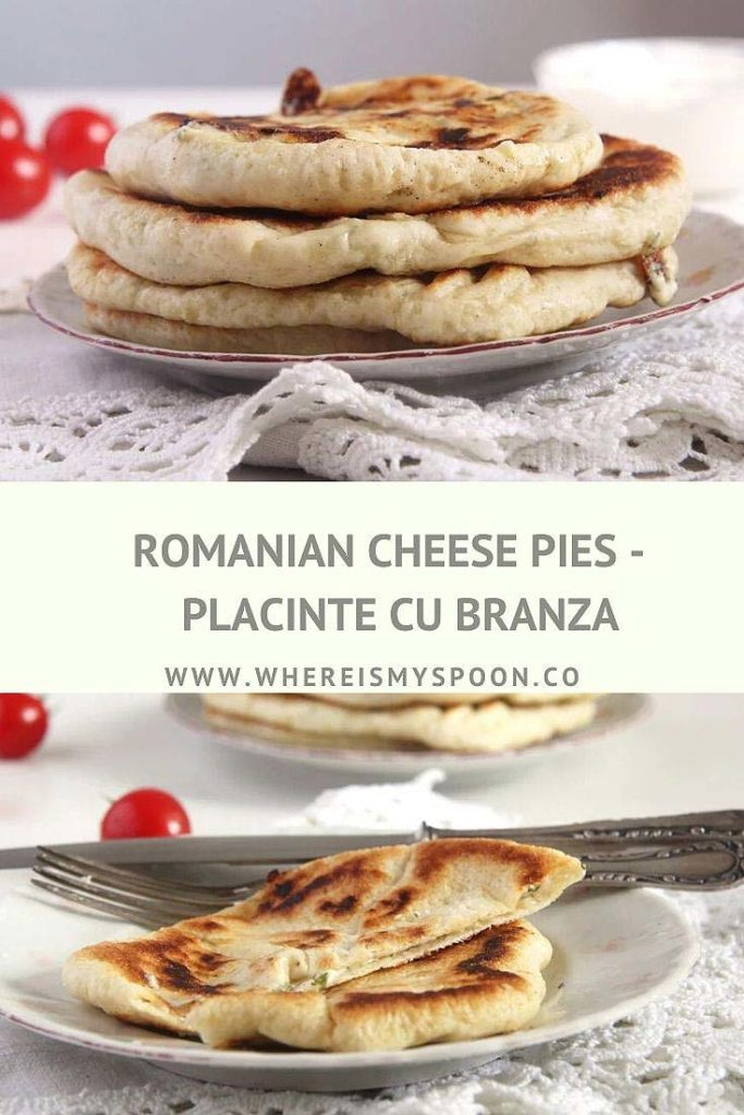 placinta cu branza or Romanian cheese pies
