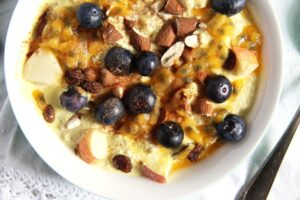 turmeric muesli yogurt 300x200 Turmeric Paste for Golden Milk