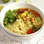 turmeric soup 150x150 Turmeric Paste Soup with Noodles and Vegetables