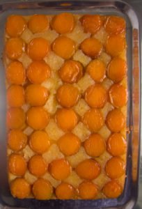 upside down apricot cake 3 204x300 Upside Down Apricot Cake with Fresh Apricots