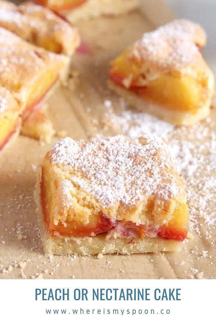 nectarine cake, Nectarine Cake