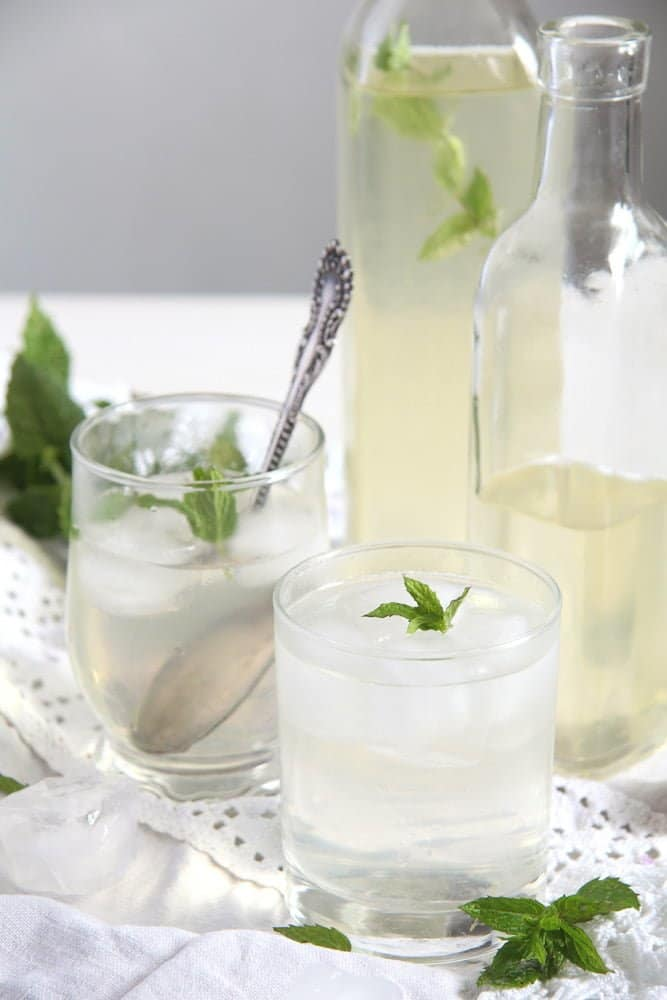 mint syrup lemon How To Make Mint Syrup