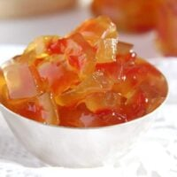 watermelon rind marmalade 200x200 Watermelon Rind Jam or Candied Watermelon Rind in Syrup