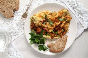 chanterelle omellet 300x200 Easy Chanterelle Omelet with Thyme and Rosemary