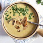 mushroom soup cream of 150x150 Creamy Mushroom Soup with Cream Cheese