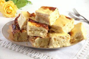 pie cheese feta 300x200 Savory Cheese Pie with Quark, Feta and Yogurt
