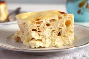 pie cheese slice 300x200 Savory Cheese Pie with Quark, Feta and Yogurt