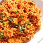 tomato rice 150x150 Vegan and Healthy Tomato Rice with Zucchini and Carrots