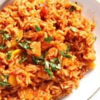 tomato rice 200x200 Vegan Rice with Tomatoes, Zucchini and Carrots