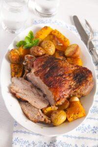 Turkey Thigh Roast 1 200x300 Turkey Thigh Roast with Potatoes and Pumpkin