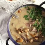 fricassee with leftover turkey recipe