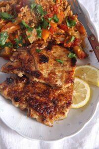 pork chops 200x300 Skillet Pork Chops Brined in Milk – Gypsy Recipe