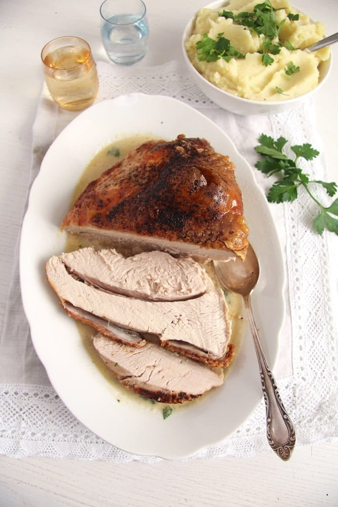 turkey breast easy Basic Recipe for Tender Oven Roasted Turkey Breast