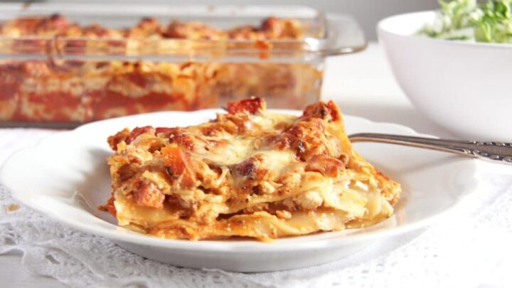 Leftover Turkey Lasagna
