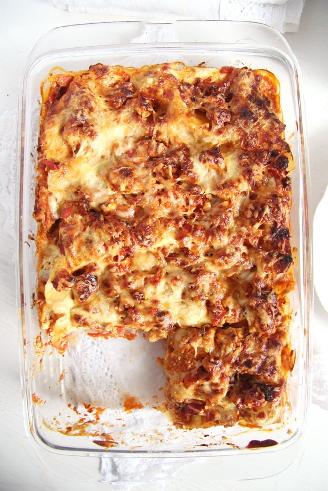 turkey lasagna light Light Cream Cheese Lasagna with Leftover Turkey