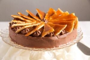 Dobos Torte Edited 2 300x200 Dobos Torte – Hungarian Cake with Chocolate Buttercream and Caramel