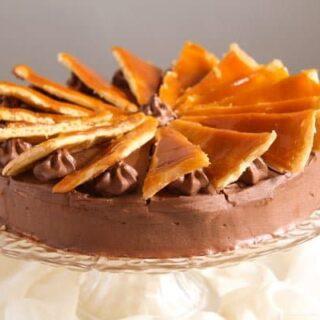 Dobos Torte – Hungarian Cake