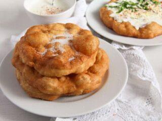 Hungarian langos recipe
