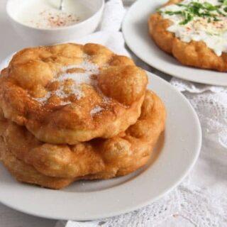 Hungarian Fried Bread – Langos Recipe