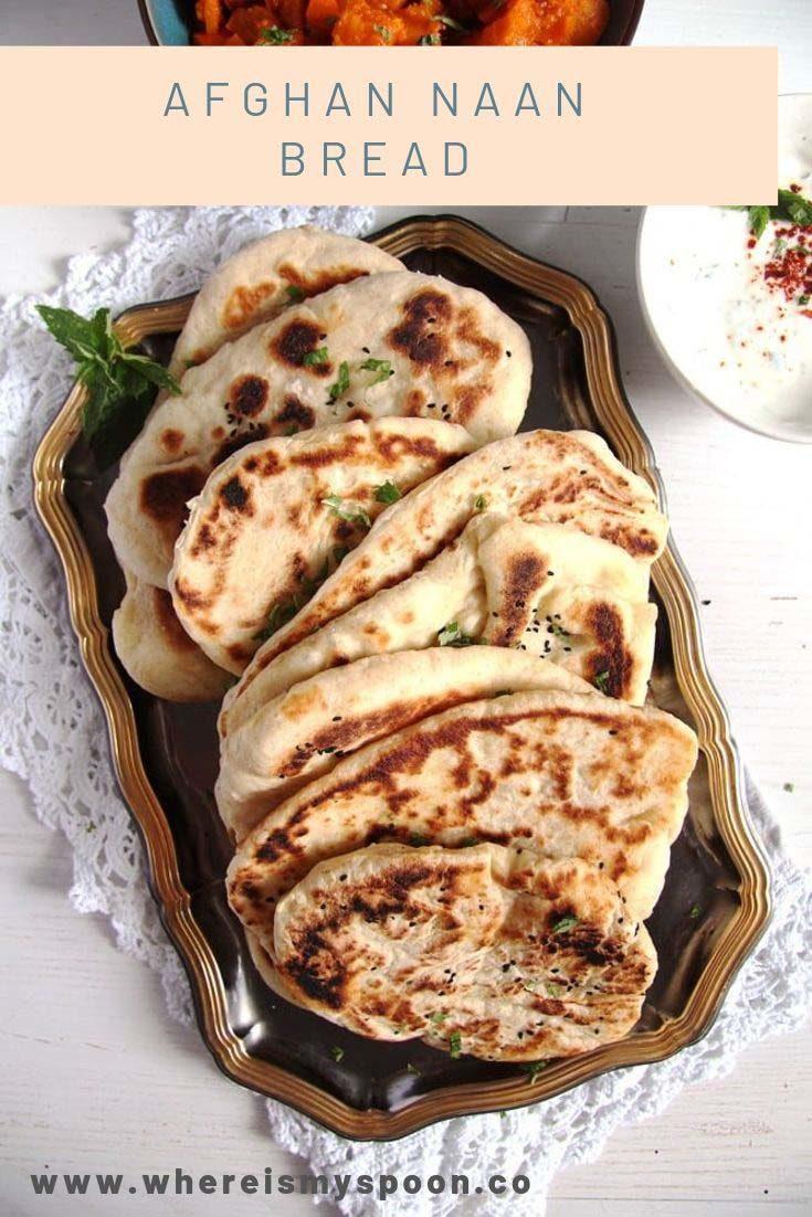 , Afghan Naan Bread with Yogurt