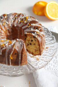 bundt cake ed 5 200x300 Orange Bundt Cake with Chocolate, Raisins and Almonds