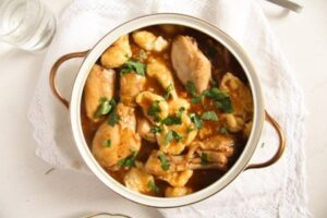 hungarian paprikash 3 300x200 Easy Hungarian Chicken Paprikash with Dumplings