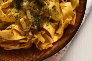 noodles cabbage ed 2 300x200 Easy Cabbage Noodles with Sour Cream and Dill
