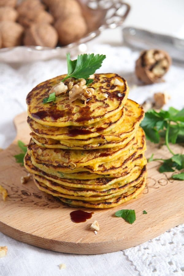 Easy Savory Butternut Squash or Pumpkin Fritters