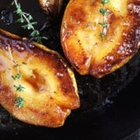 roasted pears honey 200x200 Easy Roasted Pears with Balsamic Vinegar and Honey