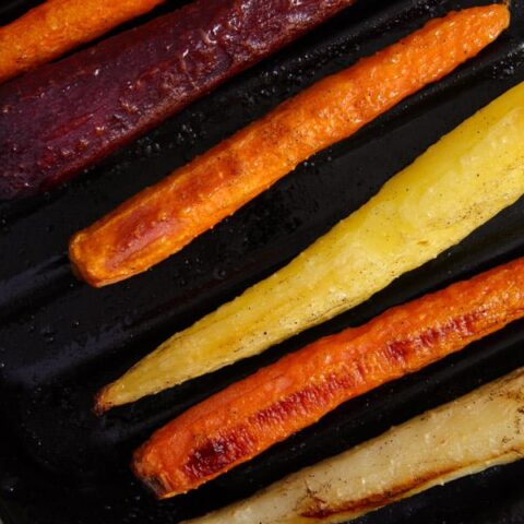 roasted whole carrots oven