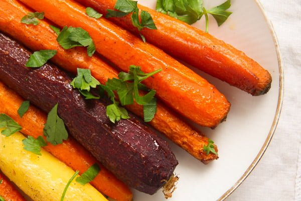roasted whole carrots recipe