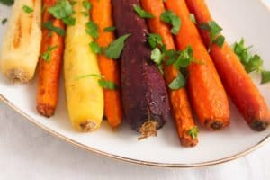 carrots oven ed 3 300x200 The Easiest Recipe for Whole Roasted Carrots with Olive Oil