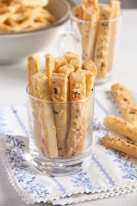 cheese pretzel ed 9 200x300 Romanian Cheese and Caraway Seed Pretzels or Sticks