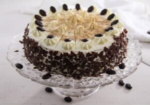 coffee cake ed 3 300x211 Cappuccino Whiskey Cake with Cream Cheese Filling