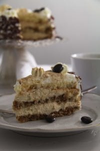 coffee cake ed 4 200x300 Cappuccino Whiskey Cake with Cream Cheese Filling