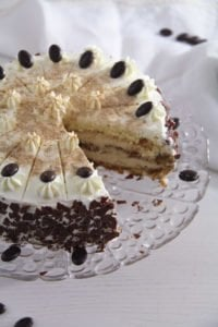 coffee cake ed 6 200x300 Cappuccino Whiskey Cake with Cream Cheese Filling