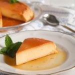 romanian creme brulee or crema de zahar ars