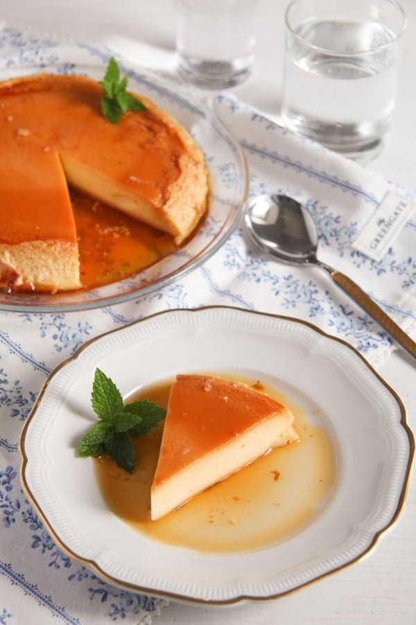 Smooth Creme Caramel or Flan – Romanian Recipe